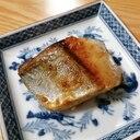 ブリの生姜麺つゆ焼き
