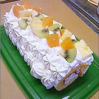 スクエア型で!ロールケーキ
