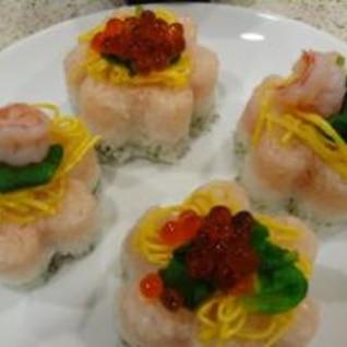 我が家の雛寿司