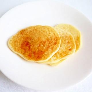 小麦粉&卵不使用 米粉と豆乳のパンケーキ