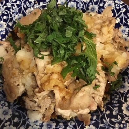 参考にさせていただきました!!かいわれ大根がなくて、大葉ですが、それ以外はレシピ通り(^ ^)とても美味しくてあっという間に食べてしまいました〜次はかいわれで。
