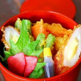 カレー天丼*おべんとう