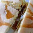 ホットケーキでバナナヨーグルトサンド
