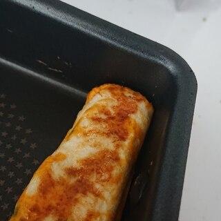 スライスチーズの簡単卵焼き