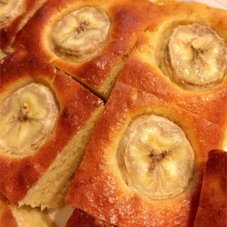 トースターで!混ぜるだけの簡単バナナケーキ
