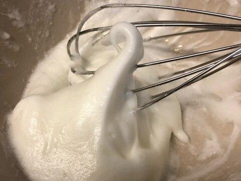 泡立た ない メレンゲ