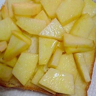 ♡りんごバタートースト♡