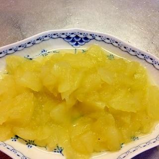 とろとろ、リンゴの水あめ煮