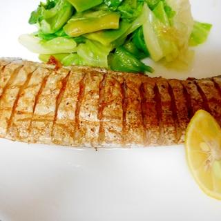 太刀魚のバターソテー