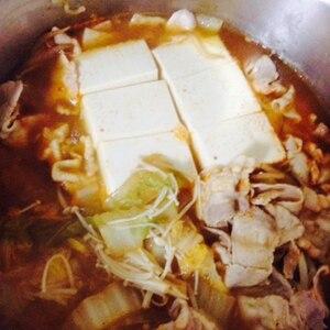 温まります☆濃くありキムチ鍋