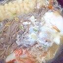 えび天カニかま蕎麦
