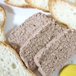フープロで簡単! 豚と鶏レバーのパテ