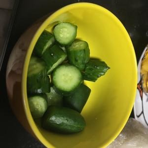 美味しくて教えてもらった胡瓜の漬物