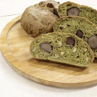 栗とチョコのハードパン