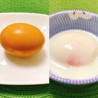 冷蔵保存できる♫*どんぶりで簡単温泉卵✧˖°