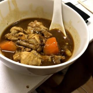 活力なべで節約!時短料理!手羽元のカレースープ