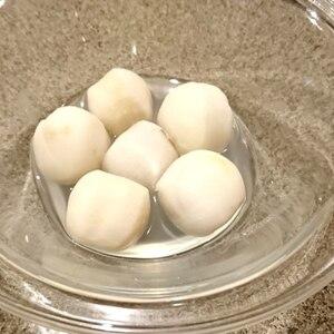 冷凍里芋を手早く美味しく♪下処理の仕方