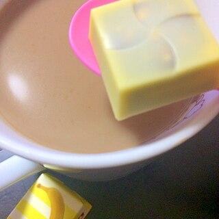 チロル*バナナパフェ 珈琲