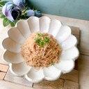 作り置き⧉白滝とえのき茸の明太子炒め