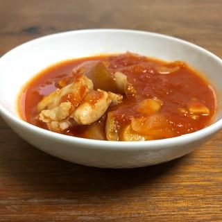 ホットクック☆鶏モモ肉と玉ねぎのトマト煮