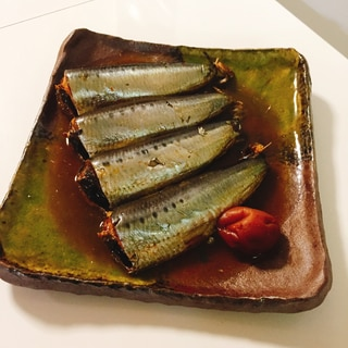 圧力鍋で簡単♬ イワシの梅煮