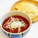 冷たい麺を熱々のカレー汁に潜らせ!つけカレーうどん