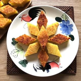 クエ ビンカ ウビ: タピオカ芋のケーキ