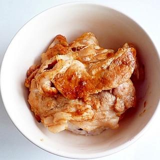 めんつゆで味付け失敗無し 豚の生姜焼き
