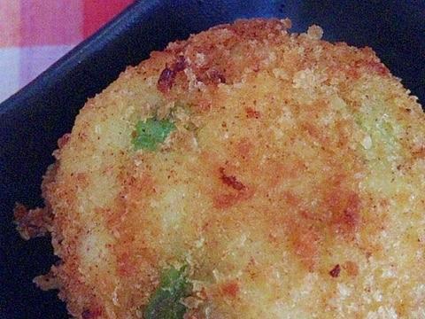 枝豆&チーズコロッケ♡