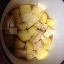 バーミキュラでほっこり厚揚げとジャガイモの煮物♪