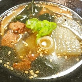 激ウマ牛肉スープ