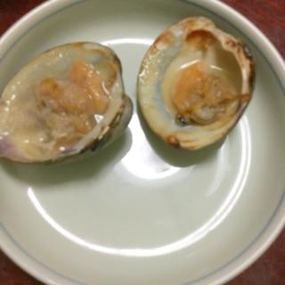 焼きホンビノス貝☆こんがり醤油!【大あさり】