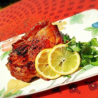 しっとりジュワ~★鶏ムネ肉の和風マスタード焼