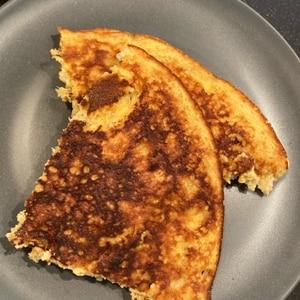 粉なし!オートミールdeバナナパンケーキ