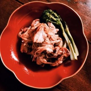 バルサミコ酢で作る鶏肉の南蛮漬け