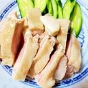アイラップでしっとり絶品蒸し鶏