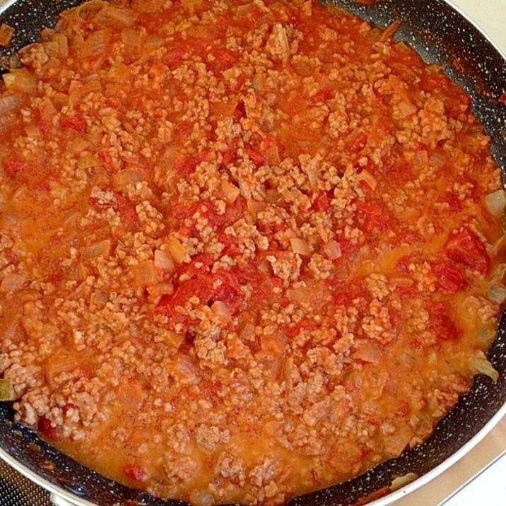 豚ひき肉で簡単ミートソース!