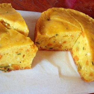 HMと炊飯器で失敗知らず!カボチャのチーズケーキ
