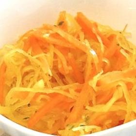 そうめんかぼちゃのオイルサラダ