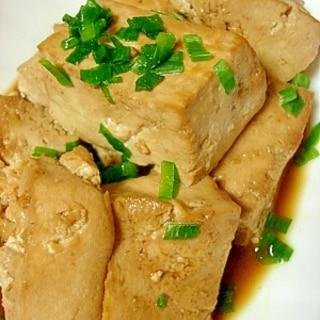 簡単ヘルシー★豆腐の醤油煮