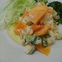 柿入りポテトサラダ