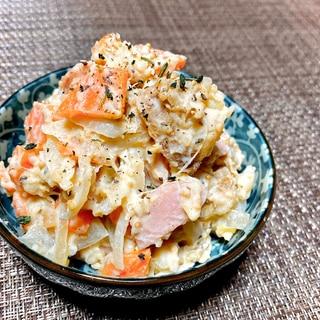 リメイク♪煮っころがしからの濃厚ポテトサラダ