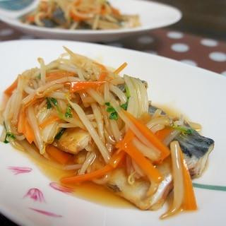 鯖の甘酢野菜あんかけ