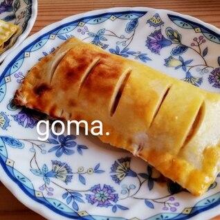 簡単・食パンアップルパイ✩.*˚