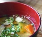 彩りお味噌汁