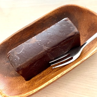 *豆腐のチョコレートテリーヌ*