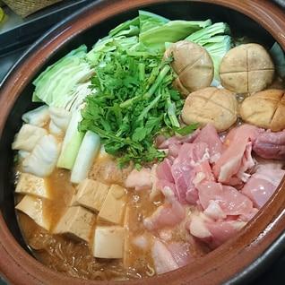 味噌好きさんのための鶏すき焼き