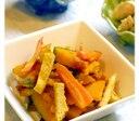かぼちゃとにんじんと油揚げの炒め煮