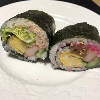 恵方巻きにも☆巻き寿司2種