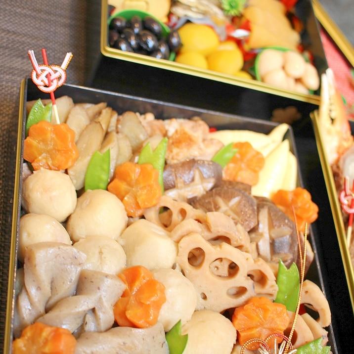 マ・ローニエプロ☆時短で味染み♪筑前煮(おせち)
